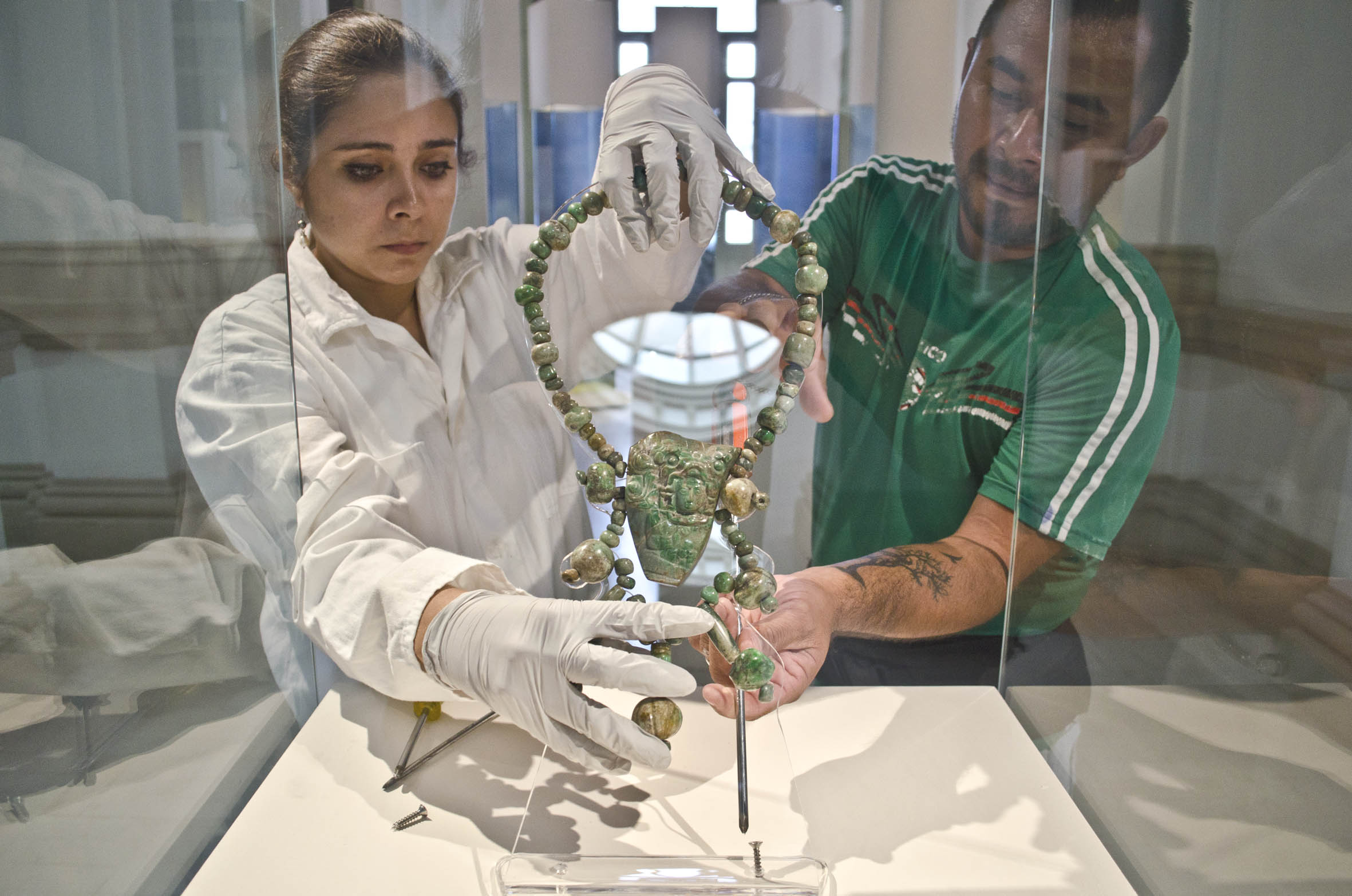 """Levantan exposición """"Poderío del oriente maya"""""""