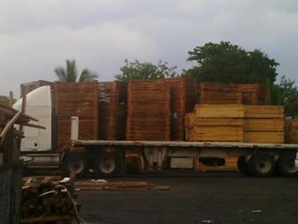 Asegura Profepa en Mérida cargamento de madera aserrada