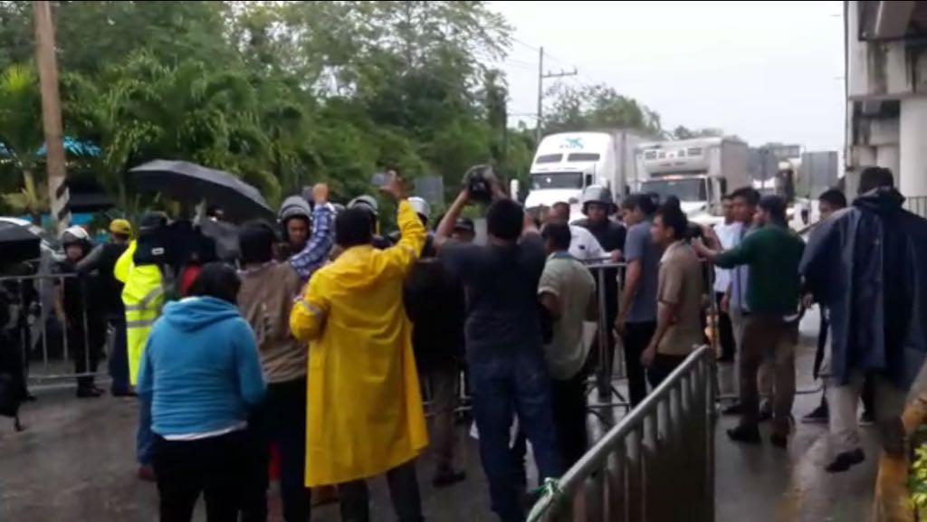 Impiden acceso a manifestantes previo a Asamblea OEA