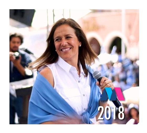 Adelantan 'campaña' de Margarita Zavala
