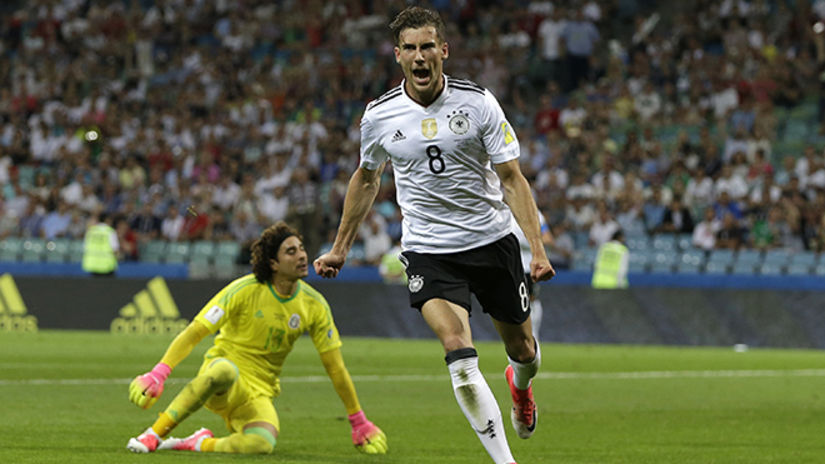 Alemania aplastó 4-1 a México