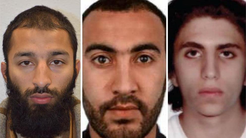 Identifican a tercer terrorista de atentado en Londres