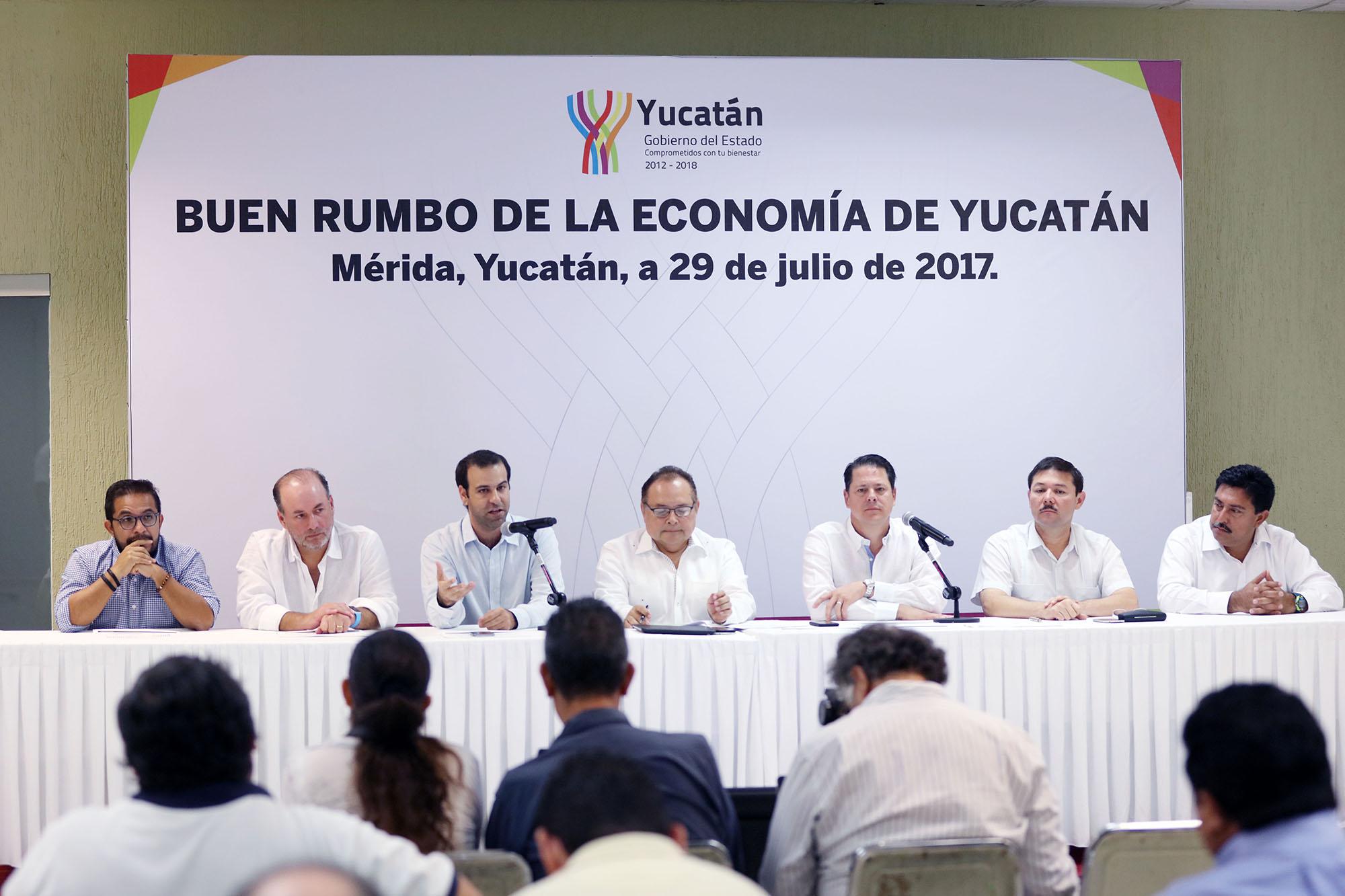 Ven empresarios 'buen ritmo económico' en Yucatán