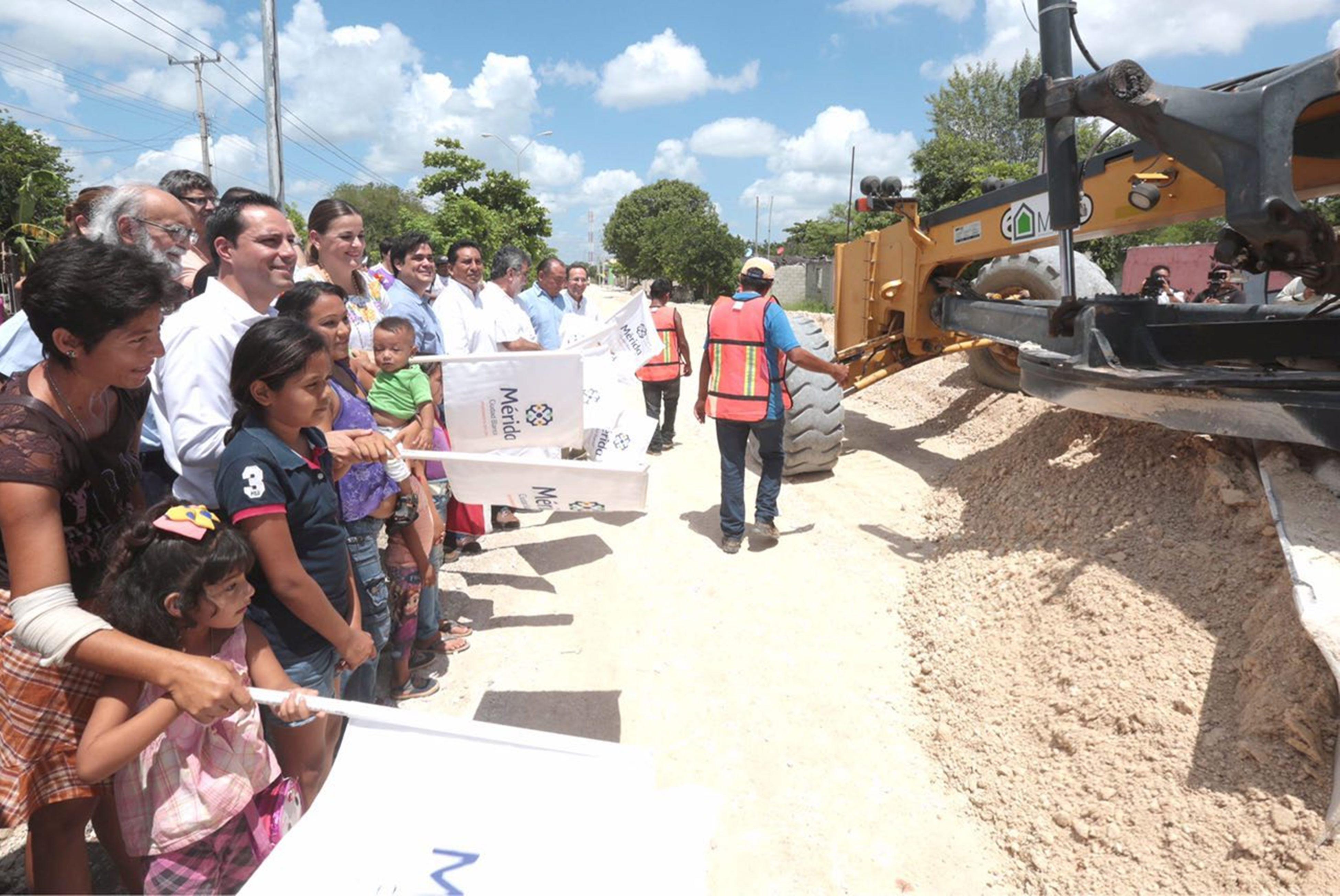 Con obra vial buscan romper aislamiento del sur de Mérida