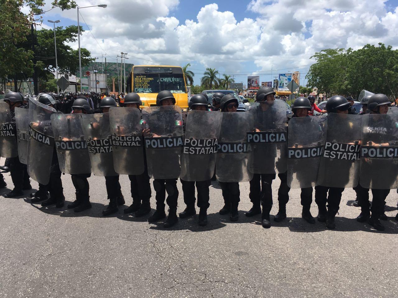 Muchos policías en Yucatán, pero de los peores pagados