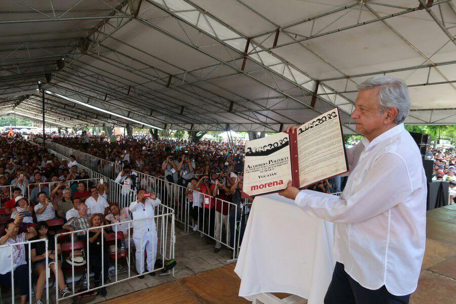 Lista de firmantes del Acuerdo de Unidad con Morena