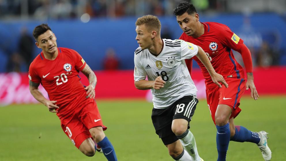 Alemania se corona; Chile con las manos vacías