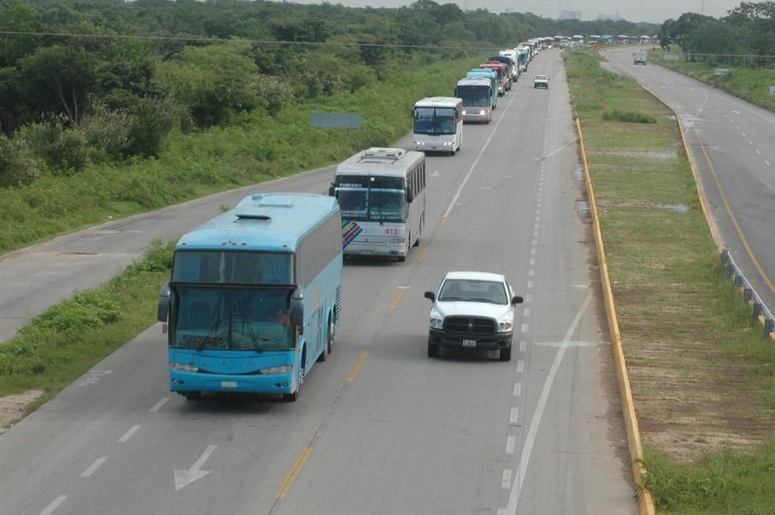 Deslindan a operadores de autobuses de asaltantes