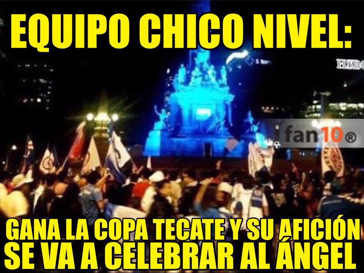 Cruz Azul ganó una copa en estadio semi vacío y sí, hay memes…