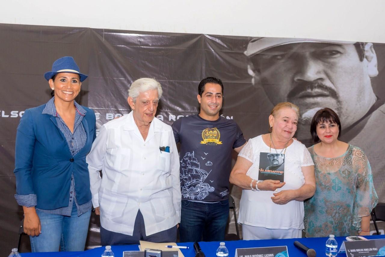 """Libro """"El Almirante"""", homenaje a Nelson Barrera"""