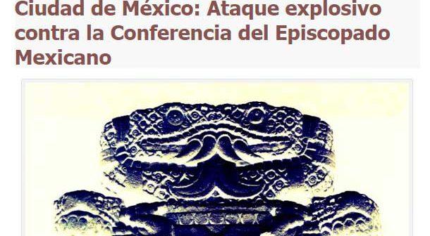 Feministas se atribuyen ataque a sede del Episcopado Mexicano