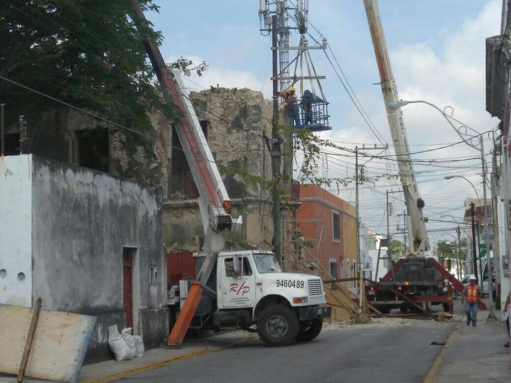 Tiran otro viejo edificio en Centro Histórico Mérida