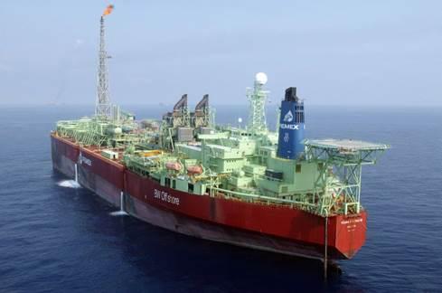 Para operaciones gigante petrolero en Sonda de Campeche