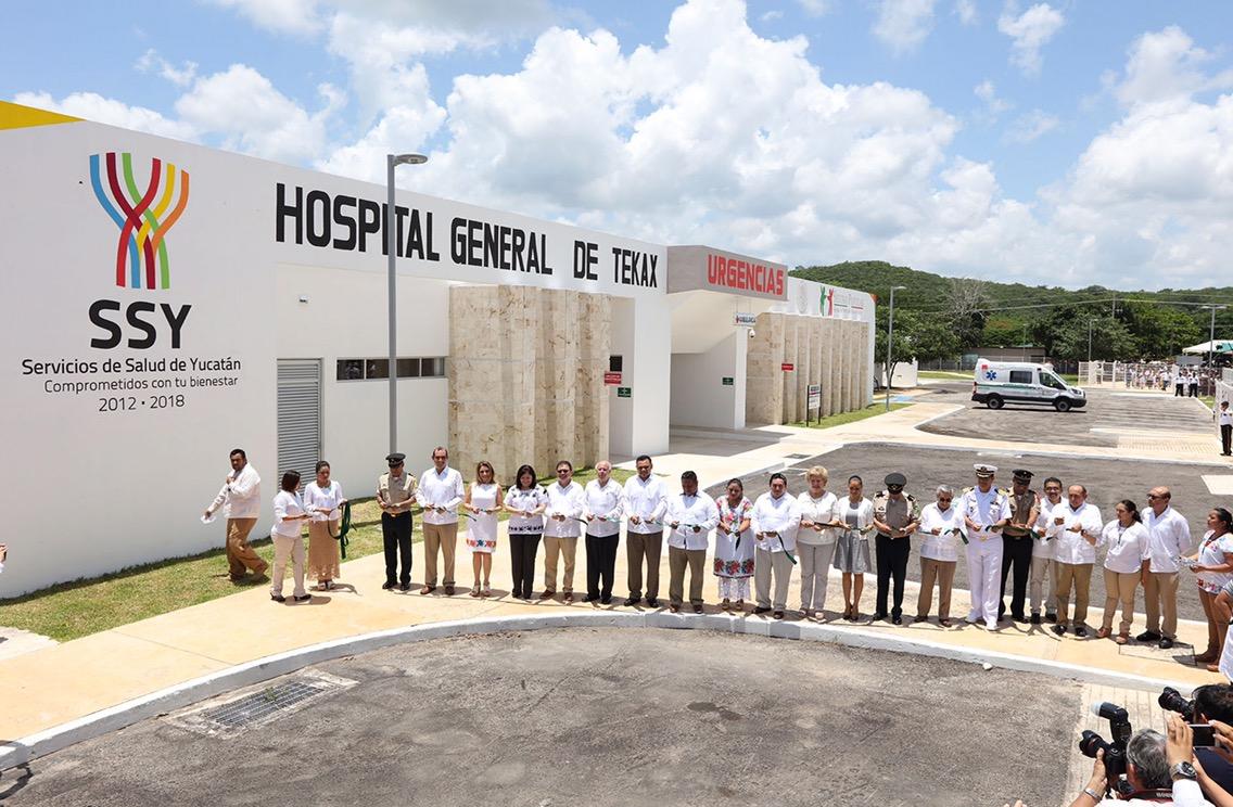 Omiten monto de inversión en Hospital en Tekax