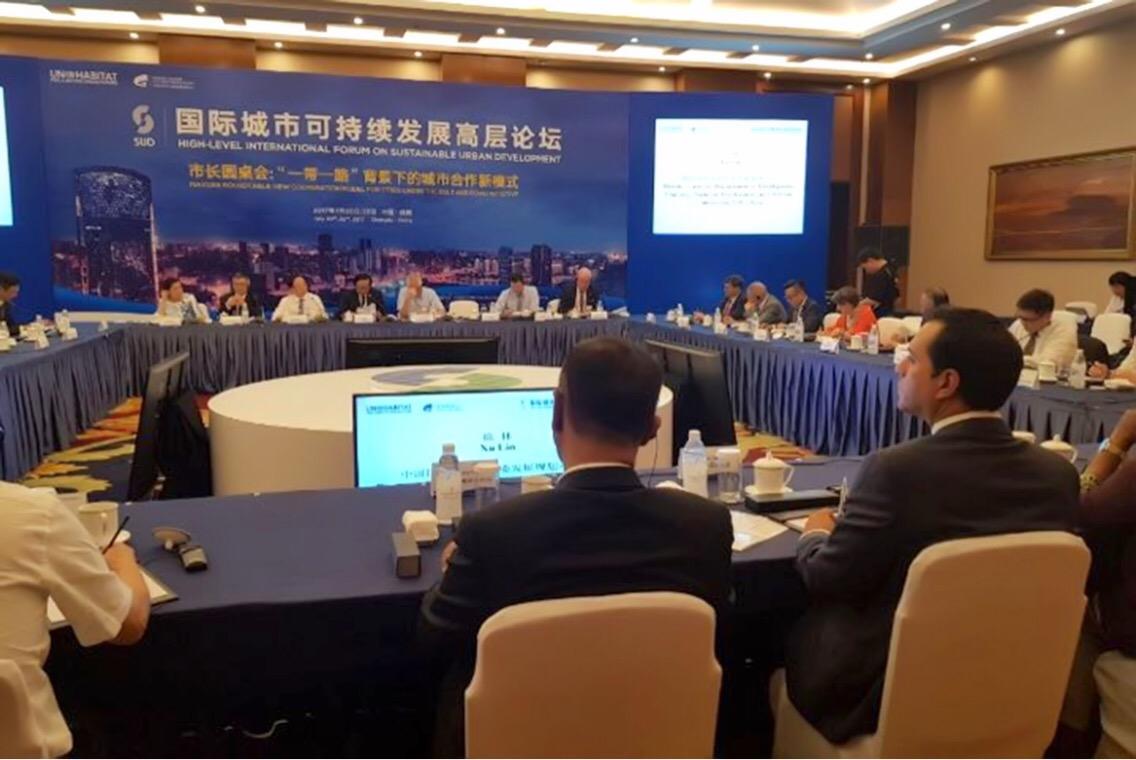 Vila asiste en China a Foro de Alto Nivel en Desarrollo Urbano