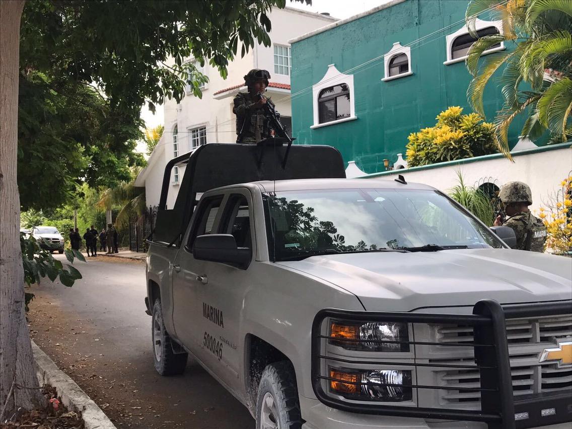 Catean predio y detienen a presuntos ligados a cártel en Cancún