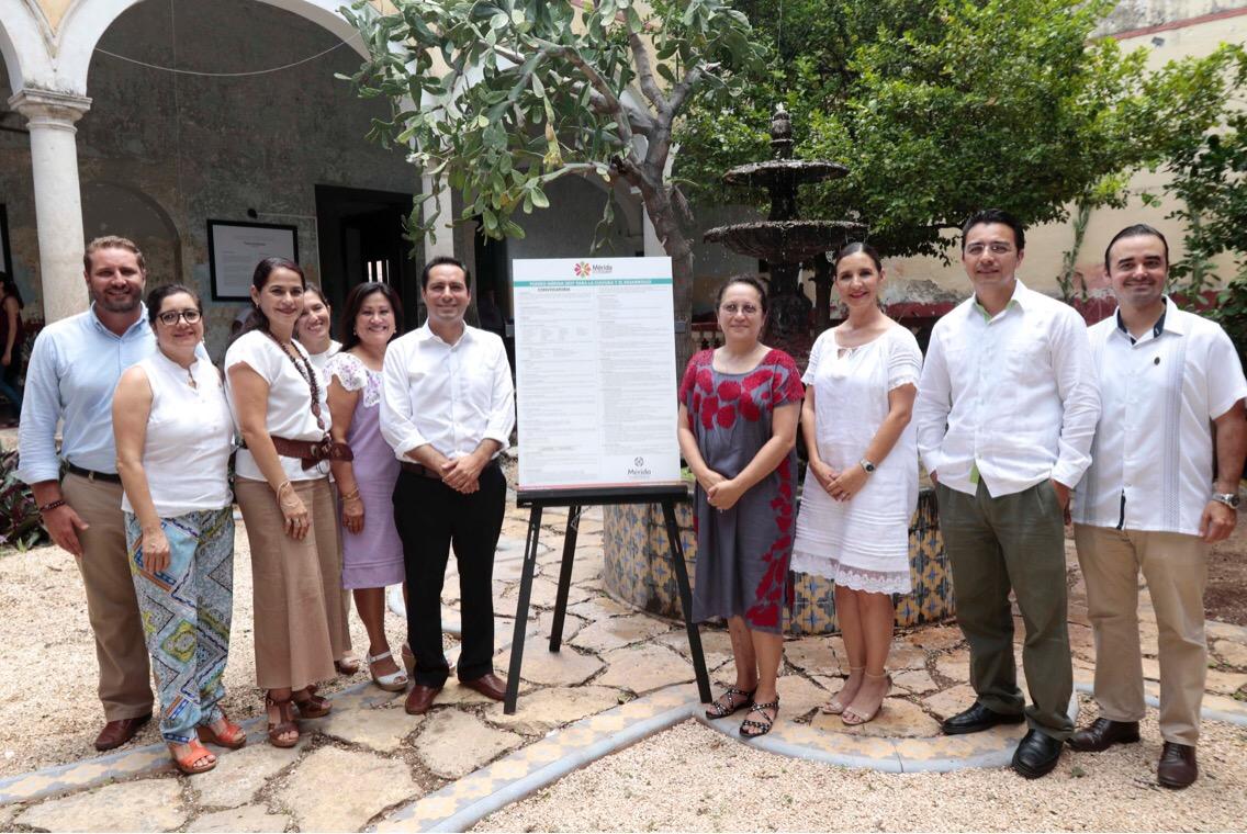 Ligado a turismo Fondo Mérida para Cultura y Desarrollo