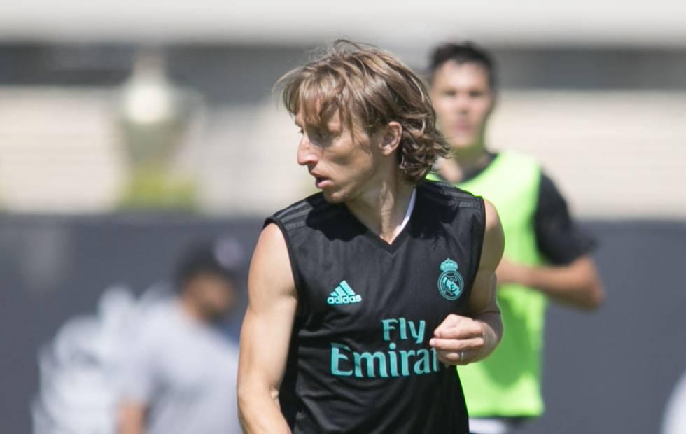 Luka Modric portará la 10 con el Real Madrid