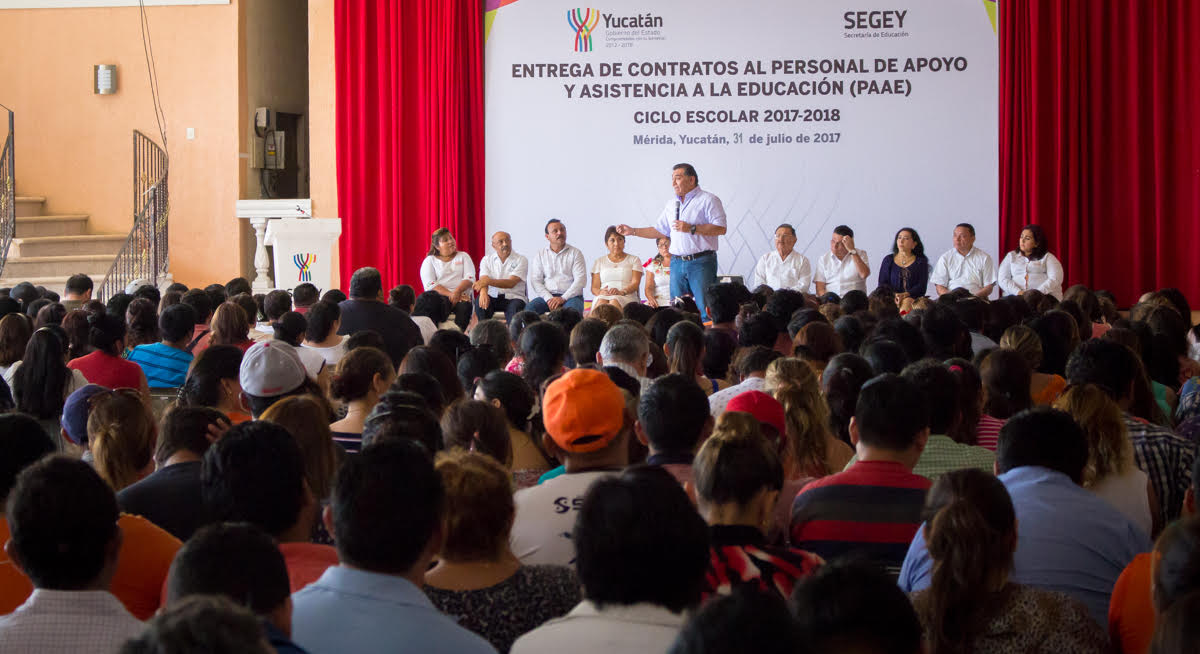 Dos mil 350 trabajadores de Segey reciben certeza laboral