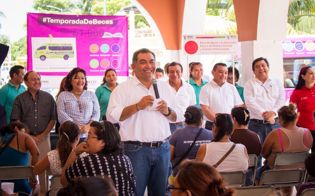 En Yucatán, la educación va por buen rumbo