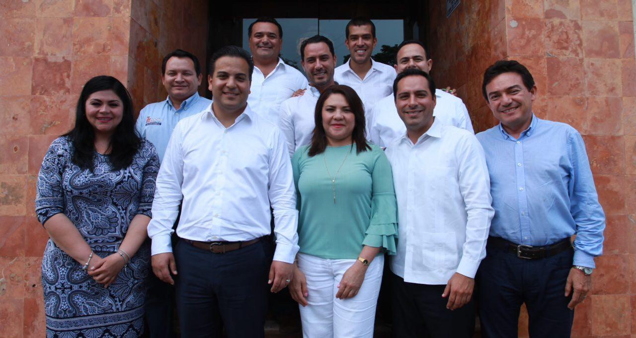 Revisan panistas condiciones internas en Yucatán