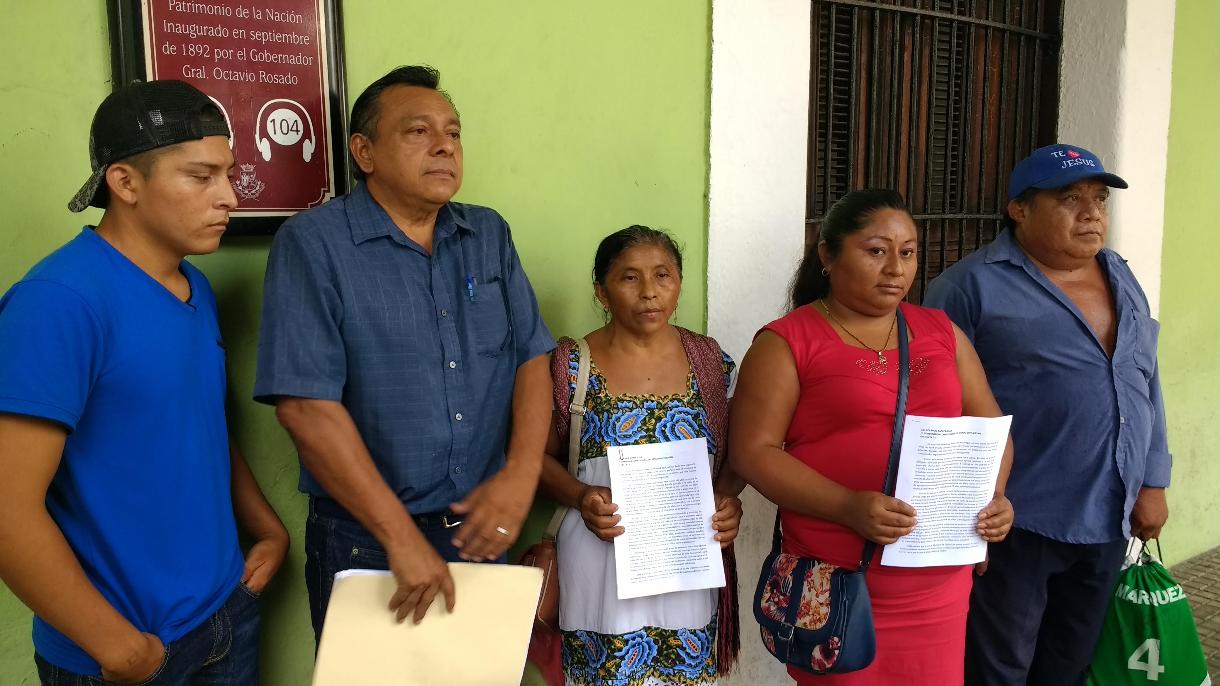 Pleito en Chemax: ejidatarios quieren sacar a todo un pueblo