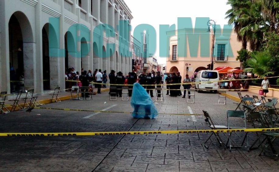 Muere durante baile en plaza de Mérida