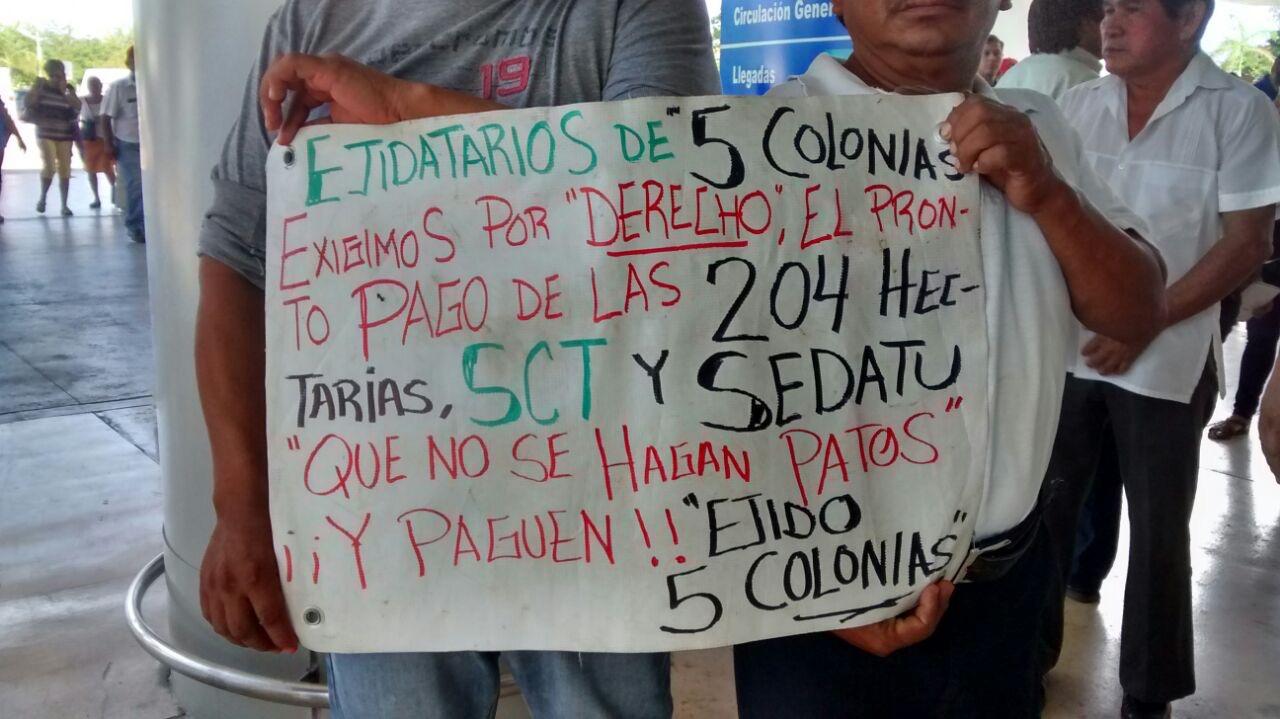 Insisten en cobrar por tierras del Aeropuerto de Mérida