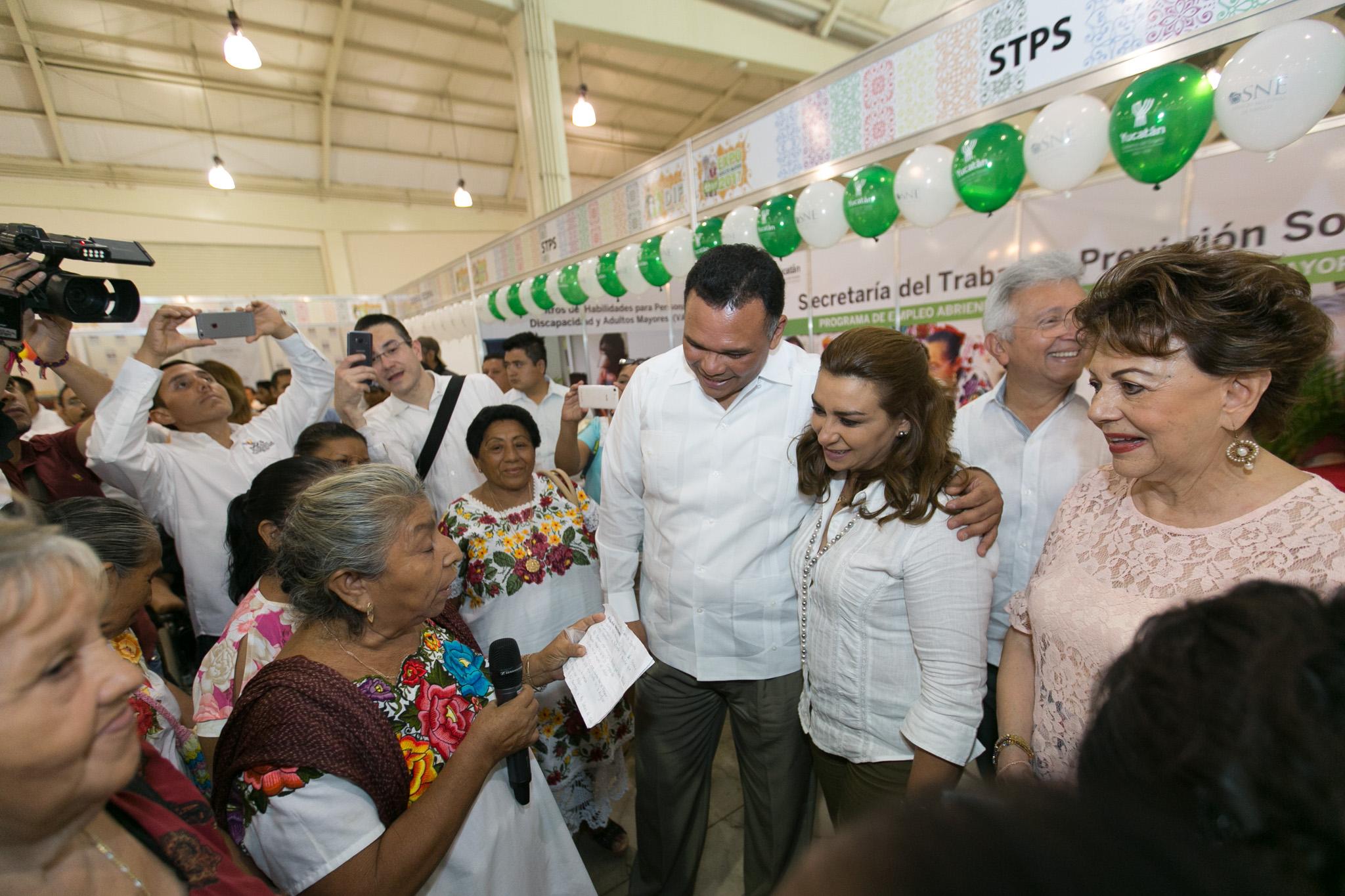 Adultos mayores, esenciales para el desarrollo de Yucatán