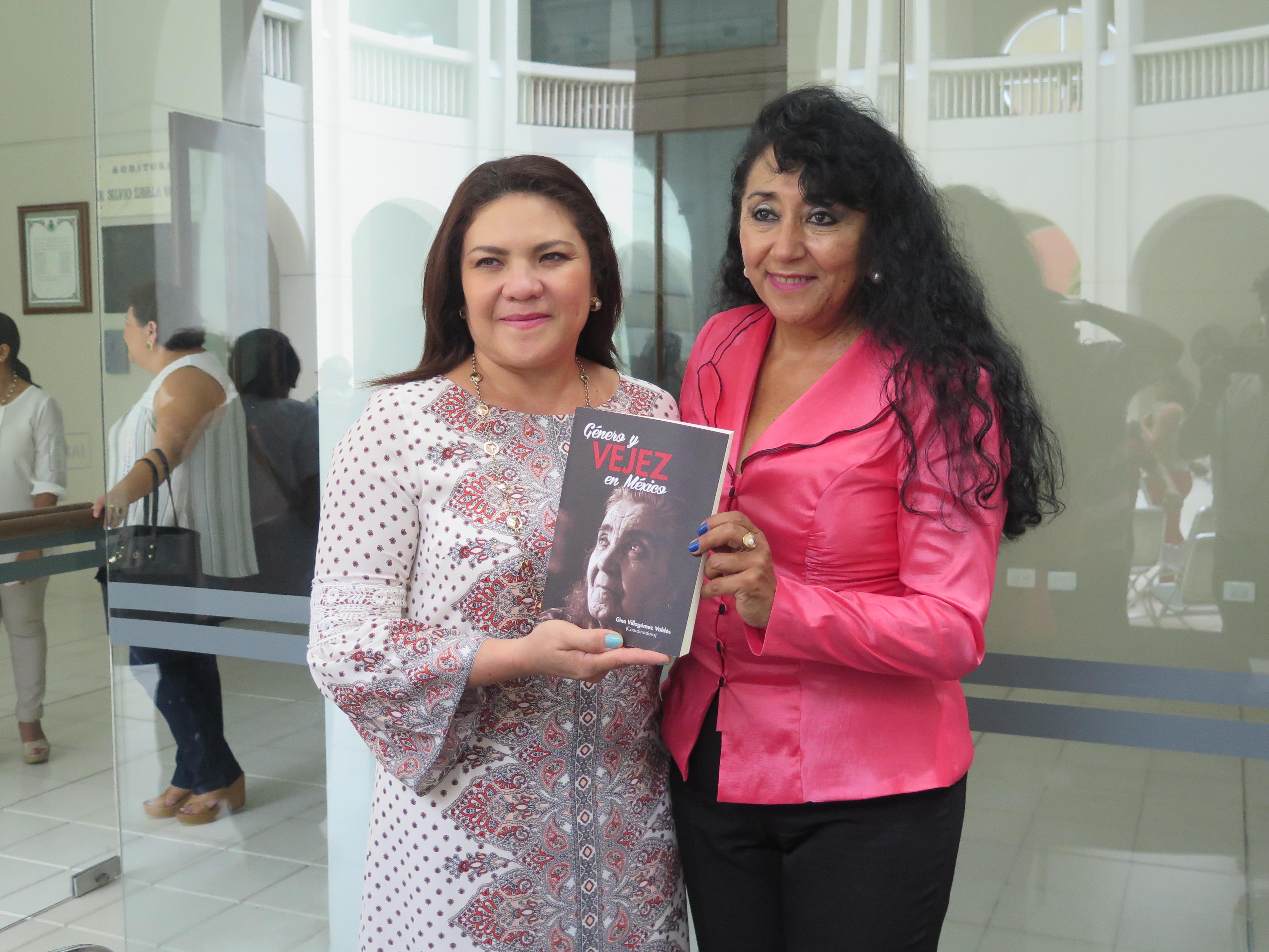 Presentan libro Género y Vejez en México