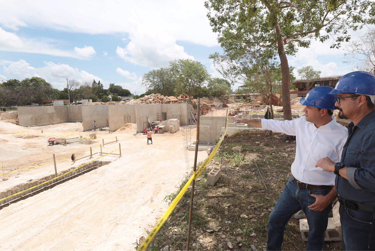 Avanzan obras para disminuir brecha entre Mérida Norte y Sur
