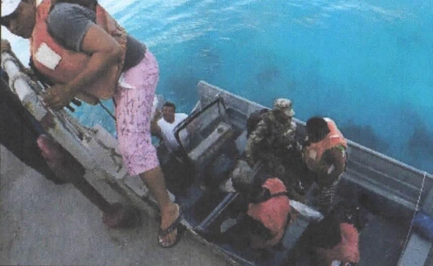 Rescatados pescadores náufragos frente a Yucatán