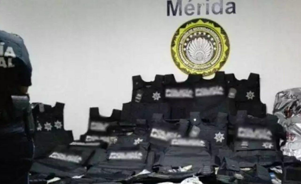 Interceptan 158 chalecos balísticos provenientes de Colombia