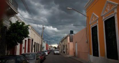 cielo nublado mérida. Nota clima martes 29 de agosto