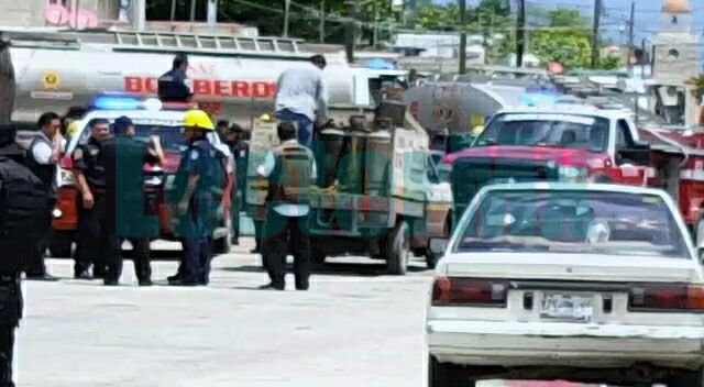 Otro repartidor de gas incendiado; ahora en Progreso