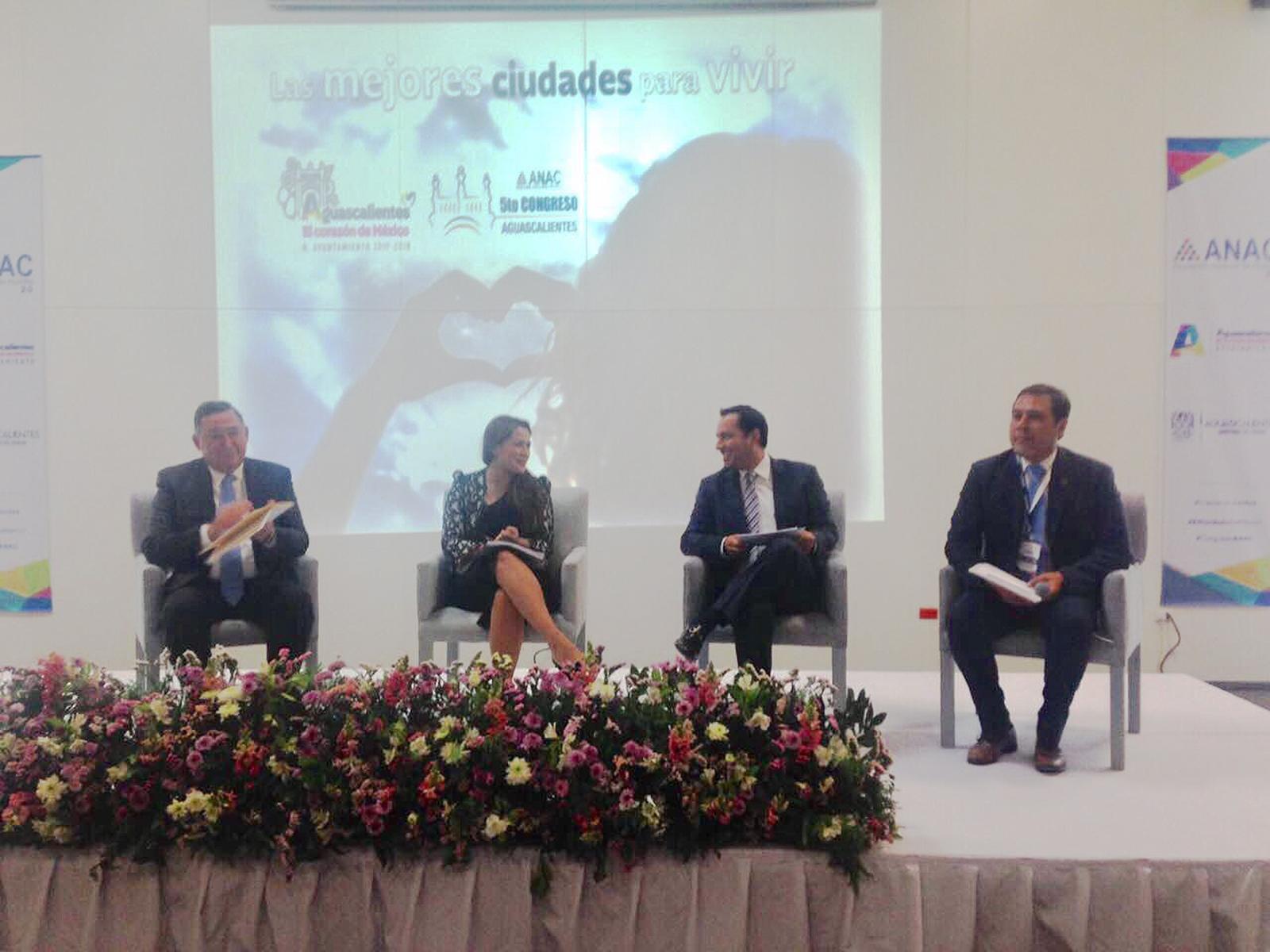 Participa Vila en 5to Congreso de Asociación Nacional de Alcaldes