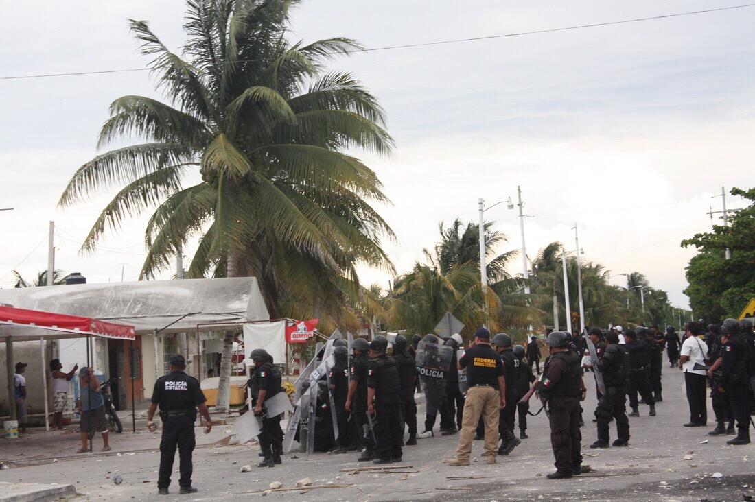 """Ve Díaz Mena """"grave confrontación"""" en puertos yucatecos"""
