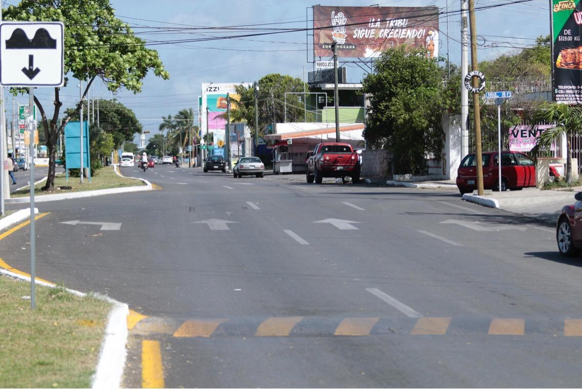 Obras de mejoramiento de infraestructura urbana en colonias de Mérida