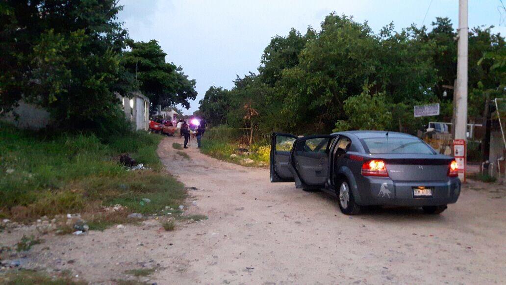 En Cancún: lo persiguen, le dan alcance y lo ejecutan