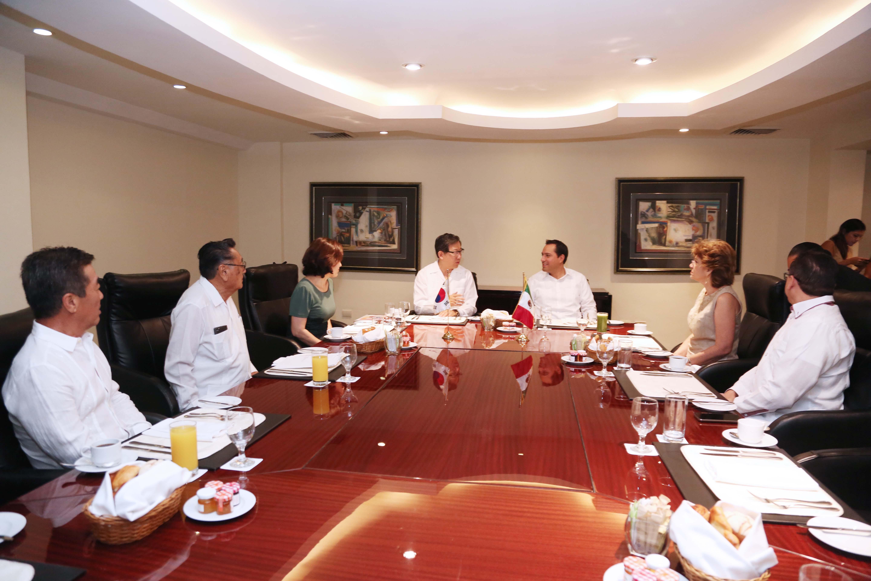 Reforzarán lazos históricos y de colaboración entre Mérida y Corea