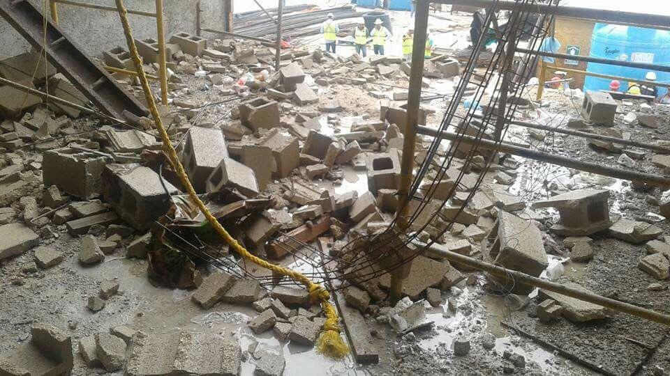 Muere uno de 9 lesionados en obras de hotel Palladium