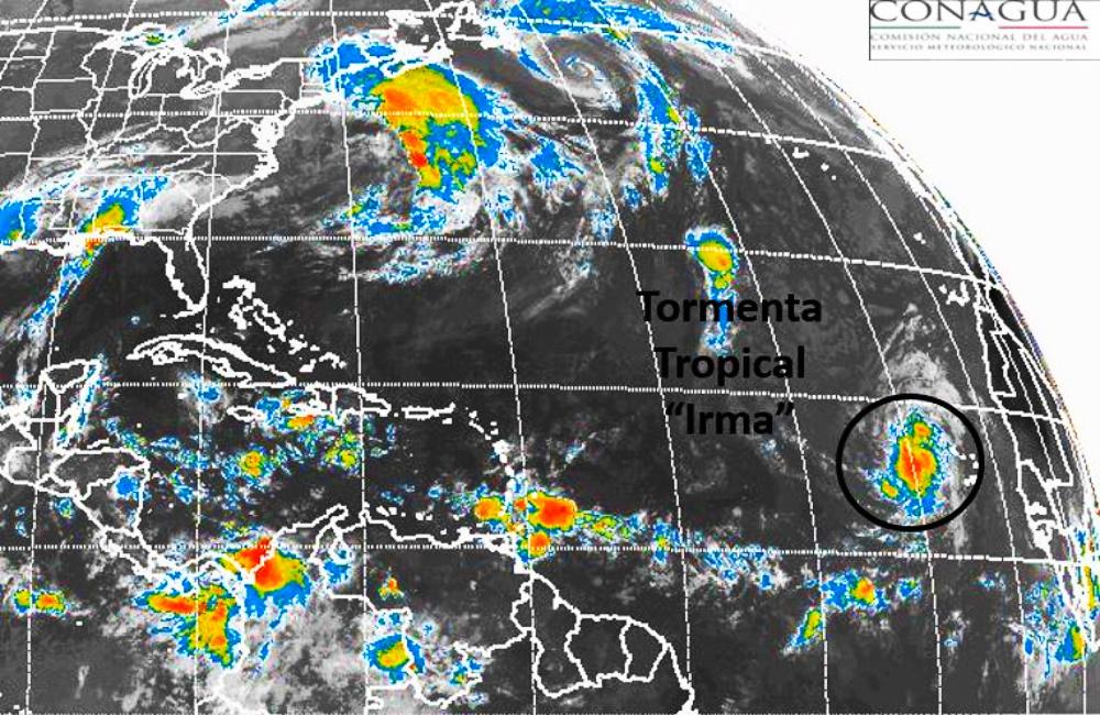 """""""Harvey"""" no ha muerto… y ya nació """"Irma"""", en el Atlántico"""