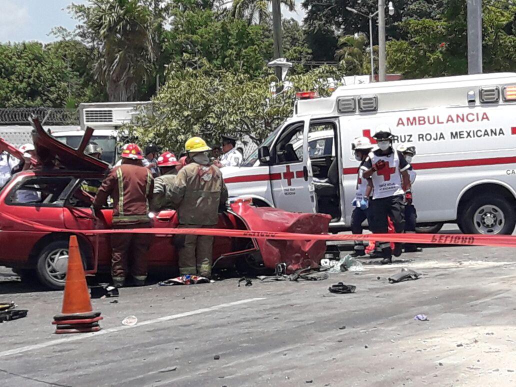 Mueren dos adolescentes camino a torneo de box en Cancún
