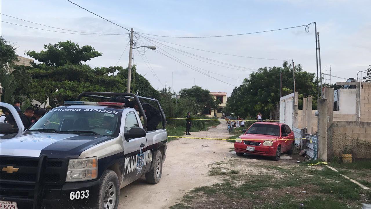 Encuentran a ejecutado en colonia irregular de Cancún