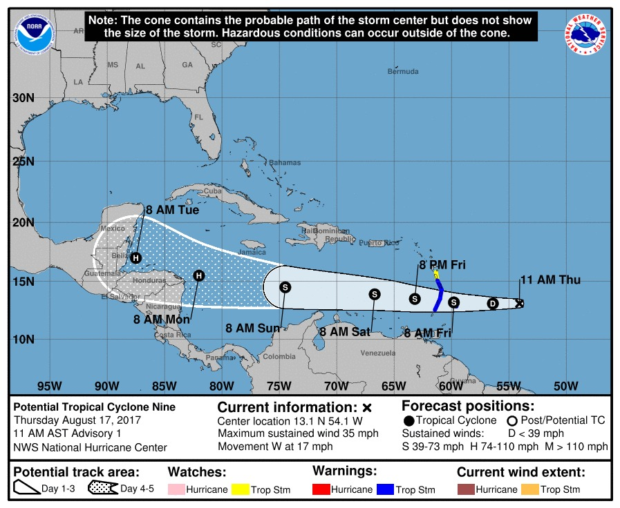 Los ojos en el Atlántico: hay un potencial ciclón
