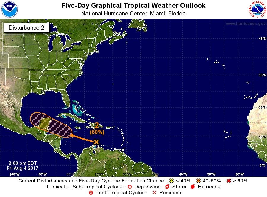 Sistema con potencial ciclónico tiene a Yucatán en la mira