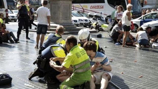 Lo que se sabe de las víctimas del ataque de Barcelona