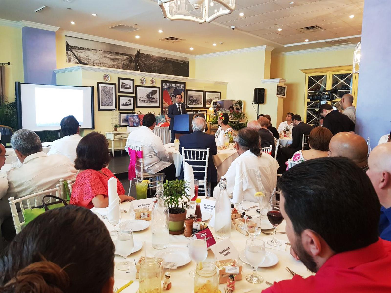 Inversionistas de Miami, interesados en los atractivos turísticos de Mérida