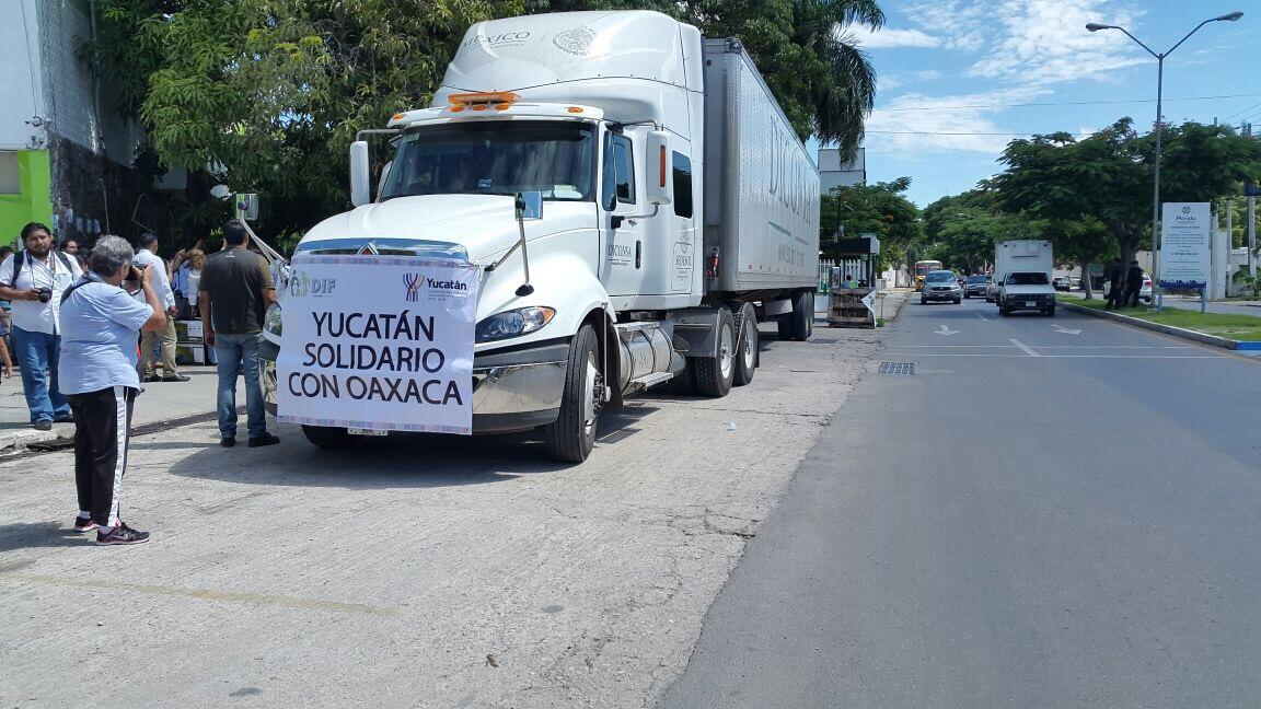 Alista Yucatán envío de apoyo a Ciudad de México