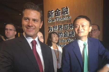 Firma México acuerdo con Alibaba para impulsar PYMES